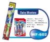 PS Handle Children toothbrush with cartoon design passed ISO9001 CE FDA