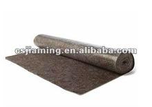 eco-friendlytextile scrap recycling/Felt protect mat /New paint carpet with pe coating film