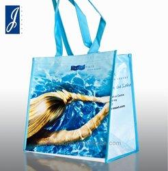 laminated pp non woven shopping bag,pp non woven shopping bag with OPP lamination