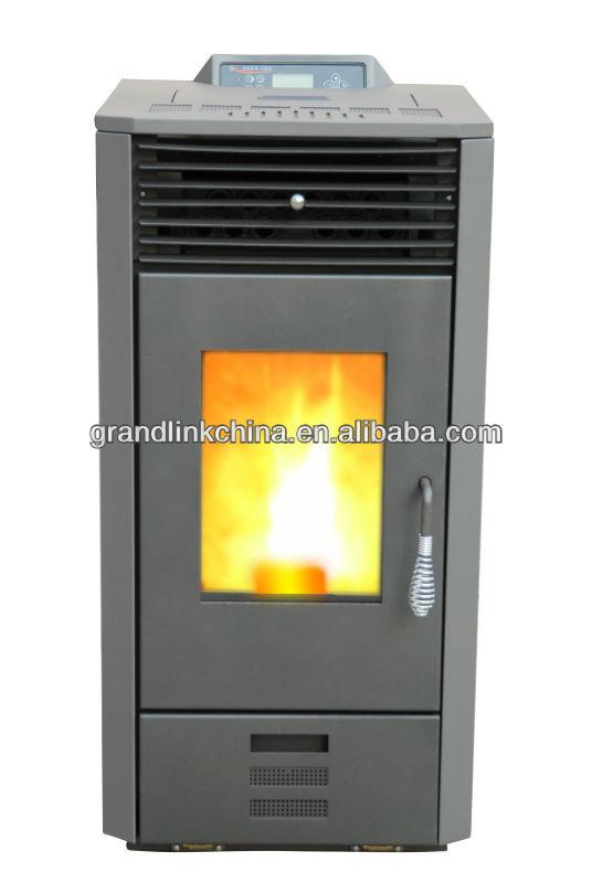 steel material control panel pellet stove