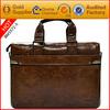 Vintage Genuine Crazy Horse leather handbag shoulder bag