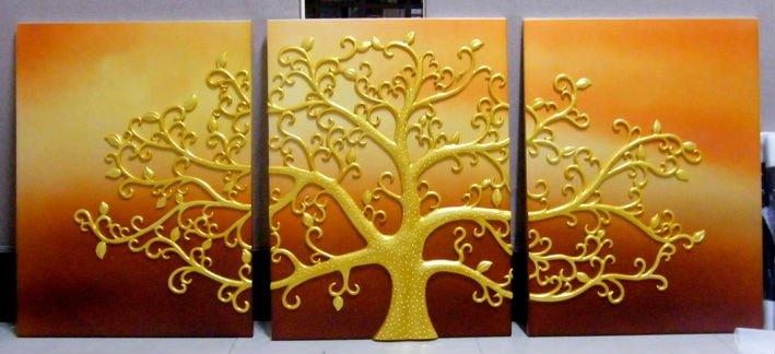 3d rbol de pintura al leo placas identificaci n del for Pintura color albero