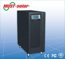 Online ups 3000va with external batteries for long time backup