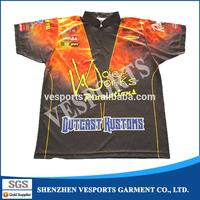 Sublimated fishing jerseys fishing shirts fishing wear