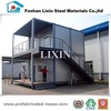 Qualified steel structure prefabricate container home bungalow office