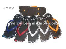 Men Open Toe Slip Resistant Slippers Rubber Sole Comfortable Fit