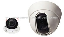 3.6mm board lens CCTV Dome Camera built-in 3 Axis bracket