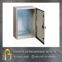 Electric digital panel meter enclosure with CNC processing