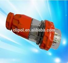 Three phase 500V 20A IP66 SAA Waterproof Electrical Plug and Socket