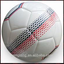 custom design machine sewn top quality tpu football ball