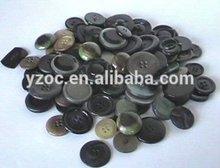 fashion black plastic button