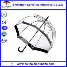 China supplier new 2015 wholesale cheap fashion transparent umbrella