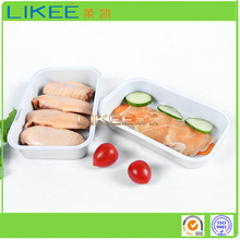 Food Use and Container Type Aluminium Foil Airline Food Trays