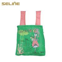 Fashion new design reusable funny cheap nylon foldable shopping bag