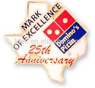 Domins Pizza 2015 custom lapel pin