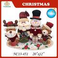 Vida en el campo decoración de la navidad, animada navidad figuras con música