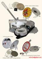 badge button machine for photo frame,clock,coin saving box