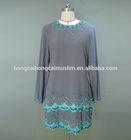 Fashion stylish lace model baju kurung modern wholesale