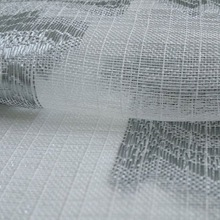 Sheer fabric for curtain luxury double layer roller curtain