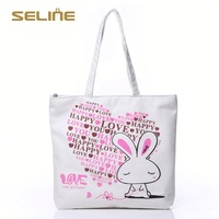 Fashion promotional promotional heavy cotton canvas tote bag