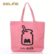 Fashion customized wine bottle cotton tote bags