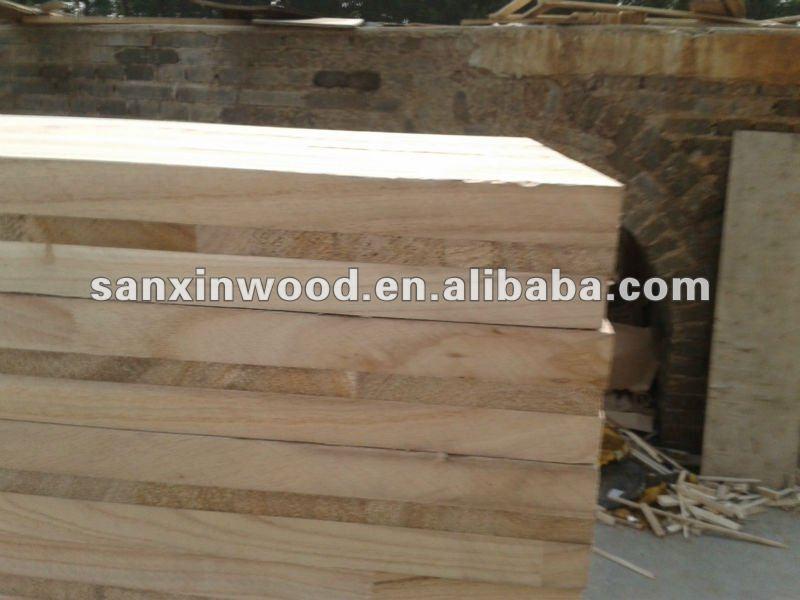 finger joint wood boards china paulownia