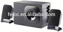 Techfly poweful multimedia 2.1 channel computer speaker subwoofer 5.1 lcd tv speaker