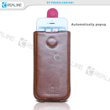 wholesale cell phone case for 4.5-5inch,cell phone pouch with magnet tab,phone pouch alibaba China