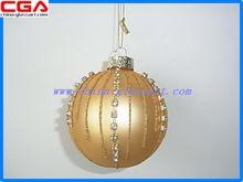 China glassart factory production wholesale shatterproof christmas ball ornaments hot sale design supply