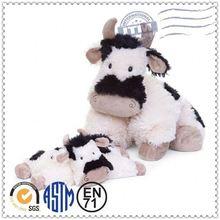 Soft plush toys, stuffed animals, christmas cow custom plush toys