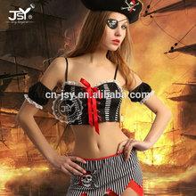 2015 hot saling womens sexy pirate dress