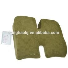 Massage Seat Pad, Memory Foam Pillow , Bamboo Knitting Fabric Pillow