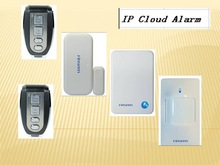 109 wireless alarm zone wired IP Cloud Alarm with APP monitor
