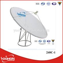 240cm C Band Satellite Solid Dish Antenna