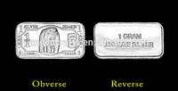 Sliver Bullion 1 Gram Panda 999 Sterling silver Bar