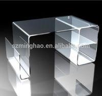 hot sell clear acrylic office desk, acrylic table