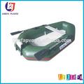 Las ventas caliente flotador inflable barco de pesca, de aluminio parte inferior de aire barco flotante