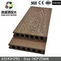 China zhejiang fábrica / piso para exterior / reciclado madeira painel de plástico
