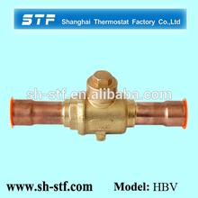 HBV Brass Ball Valve of Suction