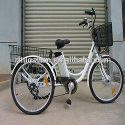 24' Electric Tricycle/3 wheels Electric Bike/ E Trike
