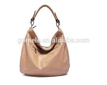2015 Latest design Italian design branded handbag lady genuine leather handbag hobo bag sling bag