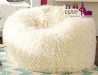 Latest Design Luxuious Plush Beanbag Sofa Bed Or Chair
