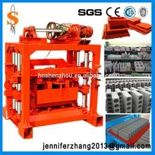 Small scale industries machines cement brick/concrete block making machine price in india, Automatic block machine for sale