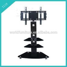 tv stand livingroom furniture/oval glass tv stand