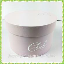 Good quality cardboard round box/Hot Sell gift box/Custom luxury cosmetic box with sponge insert