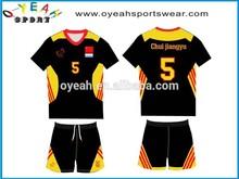 custom sublimation soccer team jersey wear