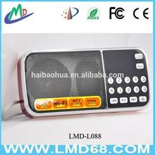 mini dual band radio speakers subwoofer L-088AM