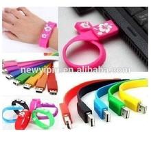 silicone wristband usb China manufacturer , cheap usb flash drive bracelets , leather wristband usb with OEM logo