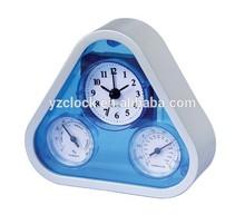 Fashion weather station table alarm clock 2015