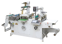 Automatic Roll-Roll Continuous Free Adhesive Tape Die Cutter